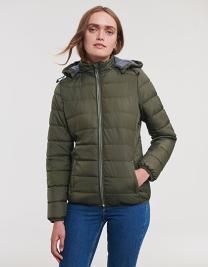 Ladies´ Hooded Nano Jacket